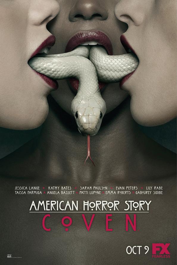 Amercian Horror Story: Coven promo poster: Snakes