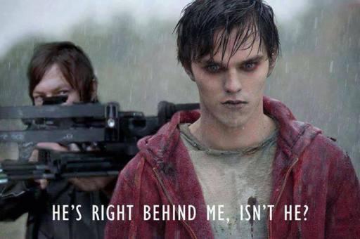 Warm Bodies gets Daryl Dixon-ed (The Walking Dead memes)