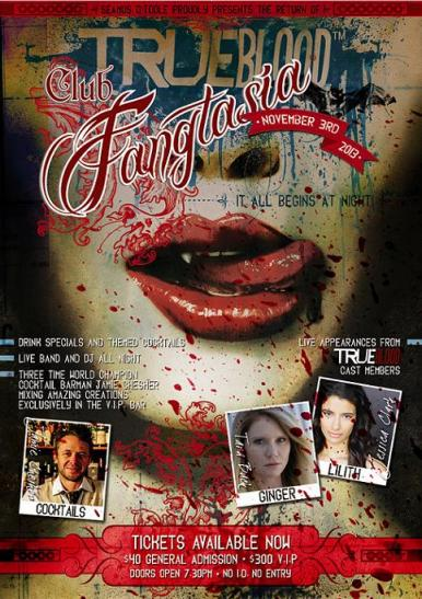 Club Fangtasia is the place to be this Halloween!
