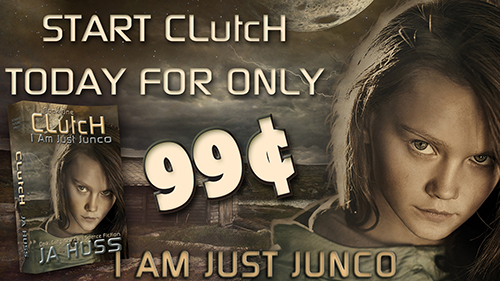 Clutch (I Am Just Junco) by JA Huss - SALE!