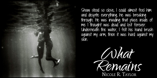 What Remains by Nicole R. Taylor Book Postcard 3 (PrueShaw1)