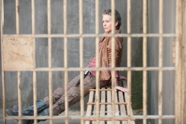 Carol (Melissa McBride) is the culprit in AMC's The Walking Dead, Season 4, Episode 3, entitled 'Isolated'.