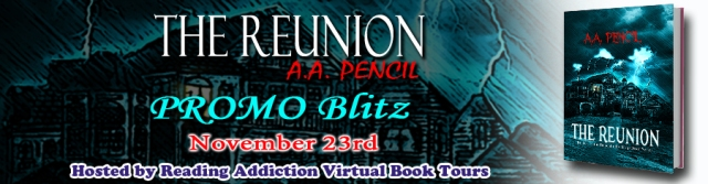 The Reunion by A.A. Pencil Banner