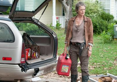 Carol (Melissa McBride) stars in AMC's The Walking Dead, Season 4, Episode 4, entitled 'Indifference'