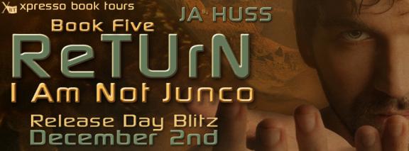 Return by J.A. Huss Blitz Banner