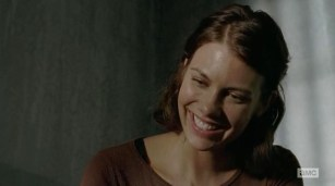 Maggie (Lauren Cohan) loses her father in AMC's The Walking Dead Season 4, Episode 8, entitled 'Too Far Gone'