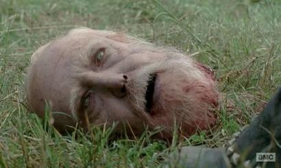 Hershel (Scott Wilson) isn't himself in Season 4, Episode 9 of AMC's The Walking Dead