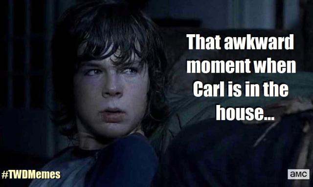 Season 4, Episode 9 of AMC's The Walking dead is all about Carl (Chandler Riggs)