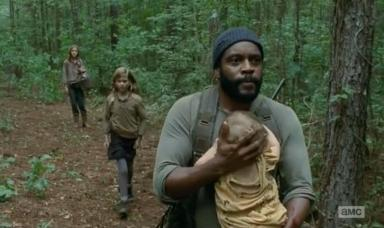 Judith is annoying but safe, having been rescued by Tyreese (Chad L. Coleman) in Season 4, Episode 10 of AMC's The Walking Dead