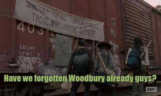 Did we forget about Woodbury already guys? Season 4, Episode 11 of AMC's The Walking Dead