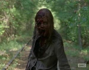 Andrea the zombie in Episode 1 of AMCs The Walking dead Season 5?