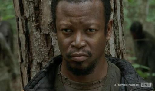 Bob Stookey (Lawrence Gillian, Jr.) gets a backstory in Season 4, Episode 13 of AMC's The Walking Dead