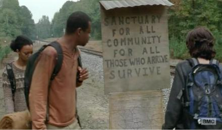 Terminus - heaven or hell? Will we find out in the Season 4 finale of AMC's The Walking Dead?
