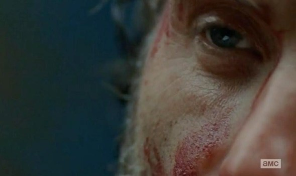 Rick Grimes (Andrew Lincoln) is tested to his limites yet again in the Season 4 finale of AMC's The Walking Dead.