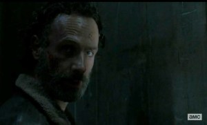 Does Rick (Andrew Lincoln) have a plan to escape from Terminus in Season 5 of AMC's The Walking Dead?