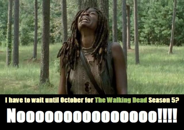 TWD Season 5 return meme