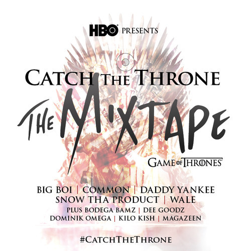 Catch the Throne Mixtape Cover