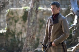 Nikolaj Coster-Waldau stars as Jaime Lannister in Season 4, Episode 4 (Oathkeeper) of HBO's Game of Thrones