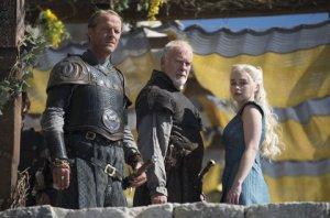 Emilia Clarke stars as Daenerys Targaryen in Season 4, Episode 4 (Oathkeeper) of HBO's Game of Thrones