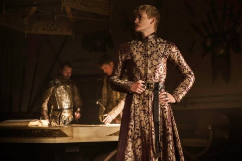 Jack Gleeson stars as King Joffrey in Season 4, Episode 1 of HBO's Game of Thrones