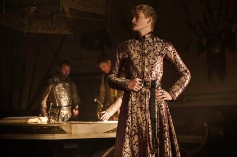 Jack Gleeson stars as King Joffrey in Season 4, Episode 1 of HBO's Game of Thrones