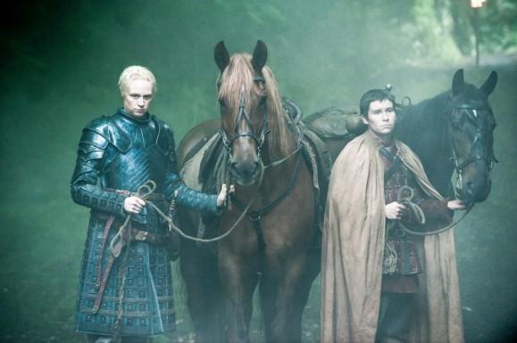 Brienne (Gwendoline Christie) stars in Season 4, Episode & (Mockingbird) of HBO's Game of Thrones