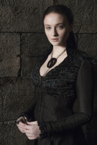 Sansa Stark (Sophie Turner) learns how to play the game in HBO's Game of Thrones Season 4, Episode 8 (entitled 'The Mountain and the Viper')