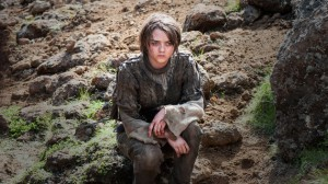 Maisie Williams stars as Arya Stark in HBO's Game of Thrones Season 4 finale, Episode 10 (entitled 'The Children')