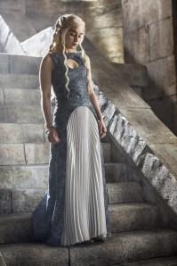 Emilia Clarke stars as Daenerys in HBO's Game of Thrones Season 4 finale, Episode 10 (entitled 'The Children')