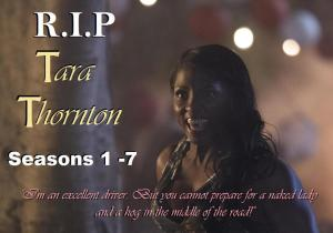 RIP Rutina Wesley (Tara Thornton) in HBOs True Blood Season 7