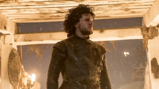 Kit Harrington stars as Jon Snow in HBO's Game of Thrones Season 4 Episode 9 (entitled 'The Watchers on the Wall)