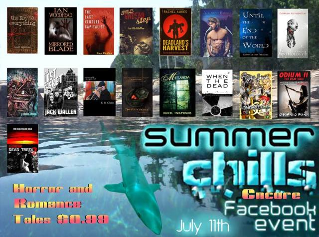 Summer Chills Book Sale - romance vs. Horror genres at only 99 cents!