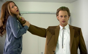 Eric Northman Alexander Skarsgard suits up in HBOs True Blood Season 7 Episode 5 entitled Lost Cause and previously titled Return to Oz