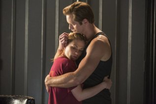 Sookie Stackhouse (Anna Paquin) and Eric Northman (Alexander Skarsgard) reunite in HBO's True Blood Season 7 Episode 4 (entitled 'Death is Not the End')