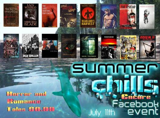 Summer Chills Facebook Event promo poster