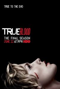 True to the End HBO True Blood Season 7 promo poster