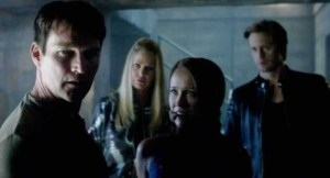 Bill Compton (Stephen Moyer) says no in HBO's True Blood Season 7 Episode 8 (entitled 'Almost Home')