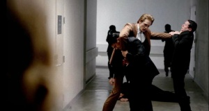 Eric Northman (Alexander Skarsgard) battles the Yakuza in HBO's True Blood Season 7 Episode 6 (entitled 'Karma')