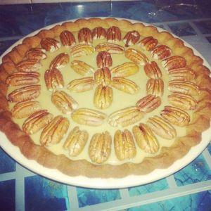 Gran's pecan pie