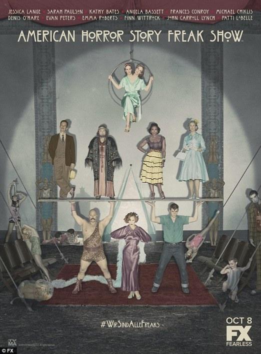 American Horror Story Freak Show promo pic 2