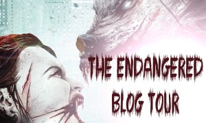 The Engdangered by S.L. Eaves tour banner