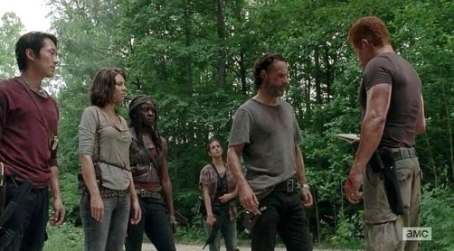 AMCs The Walking Dead Season 5 Episode 3 entitled Four Walls and a Roof 7