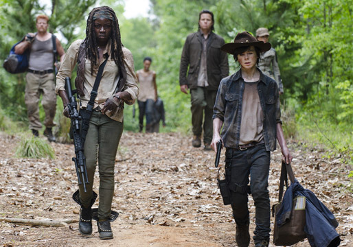 Episode 2 entitled Strangers of AMCs The Walking Dead Season 5