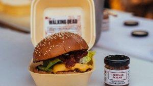 The Walking Dead Human Flesh Burger