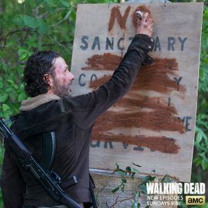 No Sanctury Episode 1 Season 5 of AMCs The Walking Dead