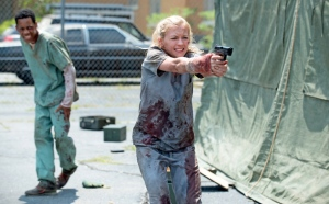 4 Emily Kinney stars as Beth in Episode 4 entitled Slabtown of AMCs The Walking Dead Season 5