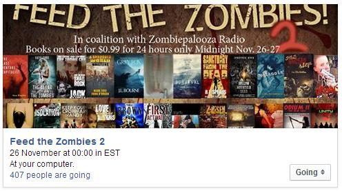 Feed the Zombies 2 Facebook image