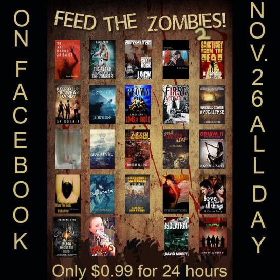 Feed the Zombies 2 poster updated