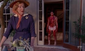 Francis Conroy and Finn Witrock star in Episode 5 (entitled Pink Cupcakes) of Season 4 AHS Freak Show