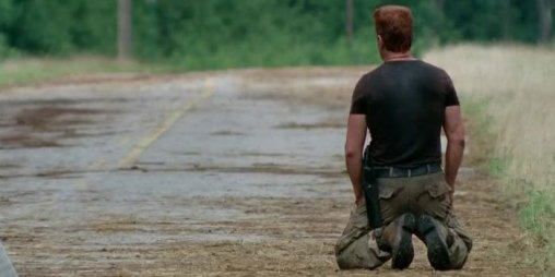 Michael Cudlitz stars as Abraham Ford in Episode 5 (entitled Self Help) Season 5 of AMC's The Walking Dead